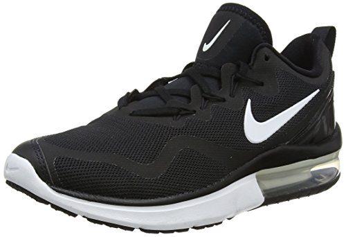 NIKE Men's Air Max Fury Black/White Black Running Shoe 10 Men US