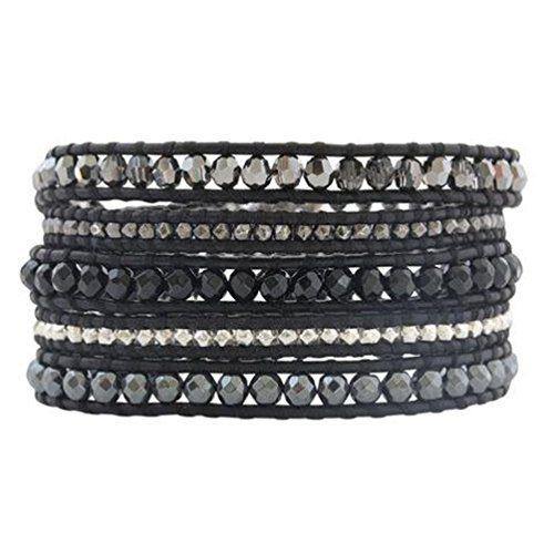 Chan Luu Black Onyx Mix Wrap Bracelet