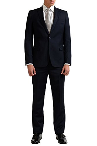 Versace Collection Men's Wool Cashmere Two Button Suit US 44 IT 54;