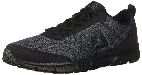 Reebok Men's Speedlux 3.0 Sneaker, Black/Ash Grey/Black, 15 M US