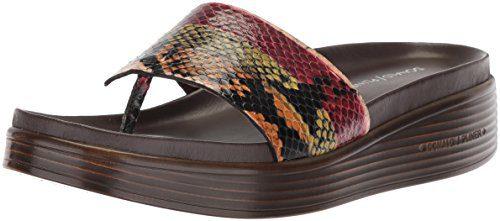 Donald J Pliner Women's Slide Sandal, Fawn, 9.5 Medium US