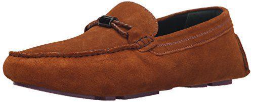 Ted Baker Men's Carlsun 2 Slip-on Loafer, Tan, 11 M US