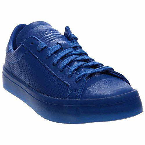 adidas Court Vantage Monochrome Men's Sneakers Shoes Blue Size 10.5