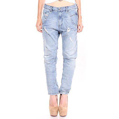 Diesel Fayza Relaxed-Boyfriend Low Waist Jeans 28/32 Women