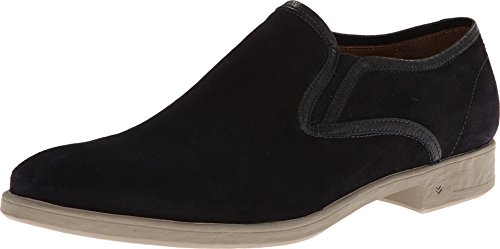 John Varvatos Men's Dylan Sidegore 1 Midnight Loafer 10 D - Medium