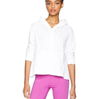 Trina Turk Recreation Women's Lightweight Sport Windbreaker, White, Medium