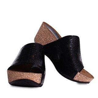 Donald J Pliner Women's Ginie Slide Sandal, Black, 8.5 Medium US