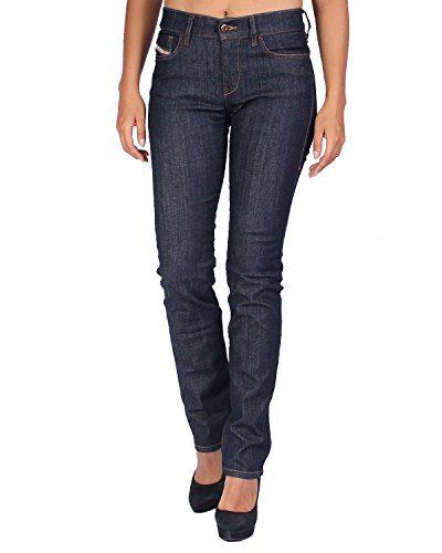 Diesel Women's Jeans STRAITZEE - Regular Slim Straight - Blue (Navy), W27/L30
