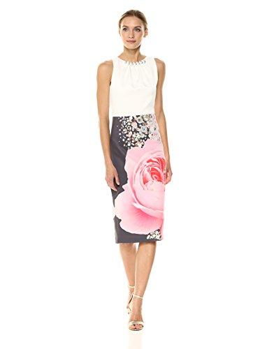 Ted Baker Women's Rubelle Dress, Natural, 2