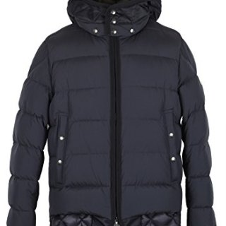 Moncler CL Blue Tanguy Quilted Down Jacket Coat Size 2/M/48/38 U.S.