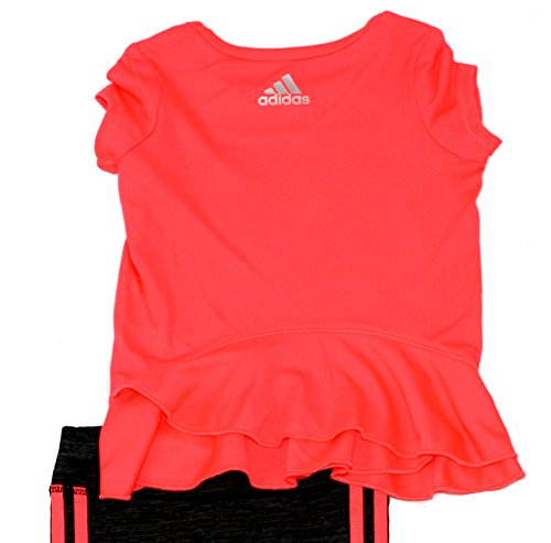a4cbd8f5eb4 Home   Shop   Kids   Girls   Clothing   Clothing Sets   adidas Girls  Infant  Toddler Melange Capri Set (3M)