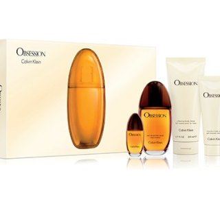 Obsession Gift Set for Women - 3.4 oz. Eau De Parfum Spray + 0.50 oz. EDP + 6.7 oz. Body Lotion, 3.4 Oz Shower Gel - OR EMAIL FOR ANY OTHER PERFUMES - 100% AUTHENTIC & ORIGINAL - No Exceptions