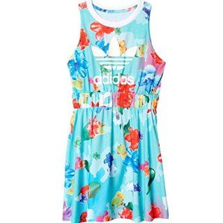 adidas Originals Dresses Big Girls' Flower, Floral Multi/White, X-Large