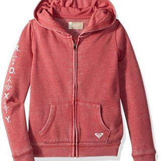 Roxy Little Girls' As We Wish Zip-up Hooded Sweatshirt