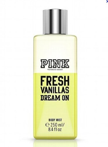Victorias Secret Pink Fresh Vanillas Dream on Body Mist 8.4 fl.oz