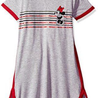Disney Big Girls' Minnie Mouse Short Sleeve Dress