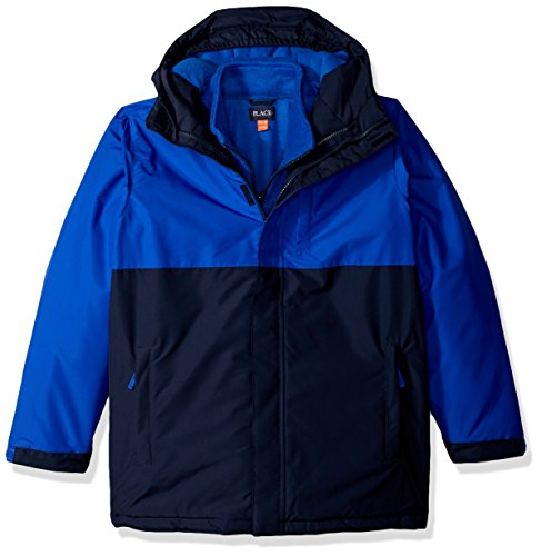 The Children's Place Big Girls' 3-in-1 Jacket, Wizard Blue