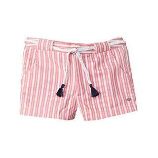 Tommy Hilfiger Girls Striped Short, 8, Pink