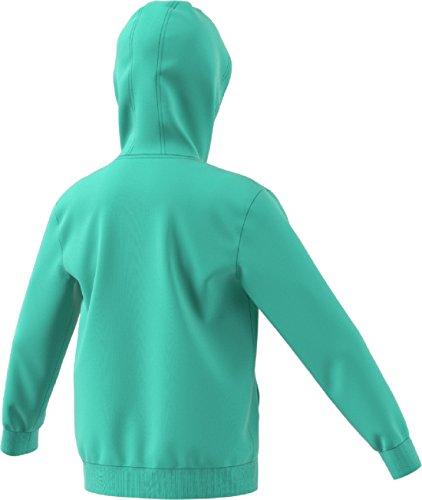60af2666c Home Shop Kids Girls Clothing Fashion Hoodies & Sweatshirts adidas  Originals Kids Unisex Trefoil Hoodie (Little Kids/Big Kids) Easy  Green/White X-Large