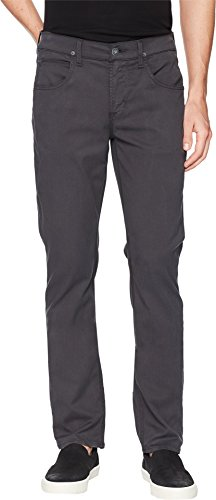 Hudson Jeans Men's Byron Straight Zip Fly Twill, Metal, 40