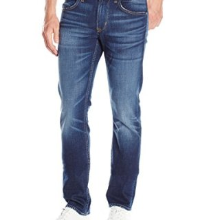 Hudson Jeans Men's Byron Straight Leg Zip Fly Jeans, 32