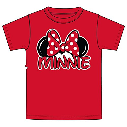 Disney Minnie Mouse Little & Big Girls Family T Shirt (6/6X)