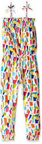 The Children's Place Baby Girls' Confetti Tie Strap Pant Jumpsuit, Purple/Lavender, 12-18 Months