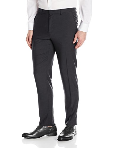HUGO by Hugo Boss Men's Contemporary Slim Fit Suit Trouser Pant, Black, 36R