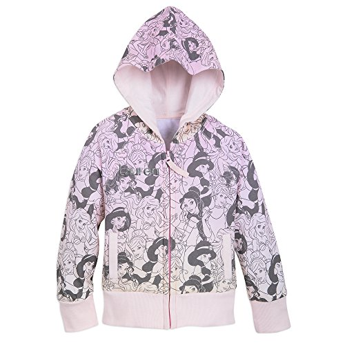 Disney Princess Hoodie for Girls - Size 7/8 Pink