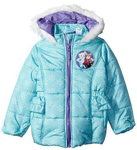 e33672ecb Disney Toddler Girls  Frozen Puffer Jacket