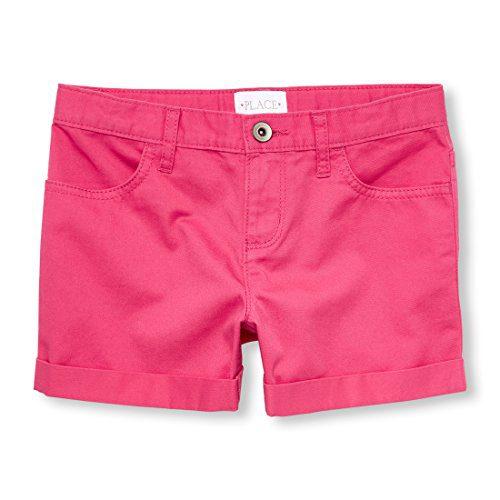 The Children's Place Big Girls' Shorts, Sweet Princess, 6X/7