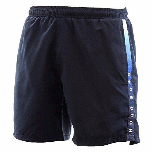 Hugo Boss BOSS Men's Seabream Swim Shorts, New Navy, Large
