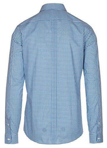 f1327fd376c Home   Shop   Men   Clothing   Shirts   Gucci Men s Blue Vichy Check Print  Slim Fit Button Down Dress Shirt