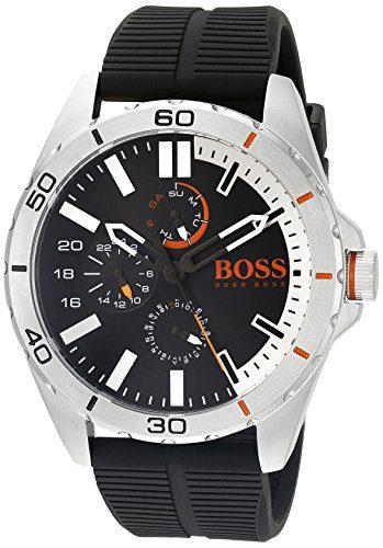 BOSS Orange Men's Berlin Analog Display Japanese Quartz Black Watch
