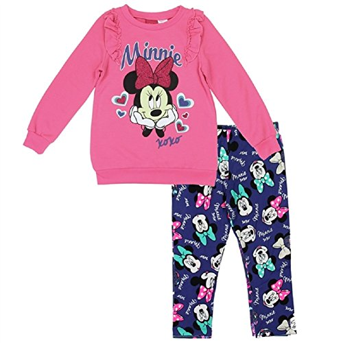 Toddler Ruffle Fleece Top and Legging Set Minnie Mouse