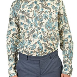 "Gucci ""Skinny"" Men's Multicolor Dress Shirt US 16.5 IT 42;"