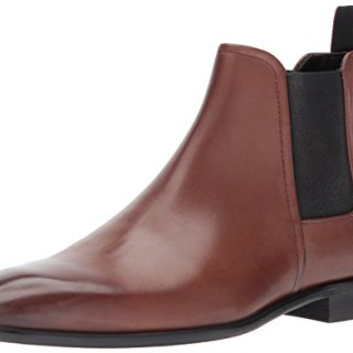 Hugo Boss Hugo by Men's Dress Appeal Chelsea Boot, Medium Brown, 12 M US