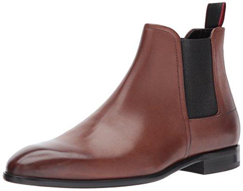 Hugo Boss Hugo by Men's Dress Appeal Chelsea Boot, Medium Brown, 12 M US