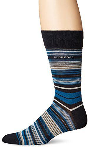 BOSS HUGO BOSS Men's Rs Multistripe Us Mc, Black, 7-13