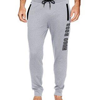 Hugo Boss Men's Long Pant Cuffs 2, Medium Gray, L