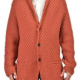 Gucci Men's Brownish Orange Jacket Size US M IT 50