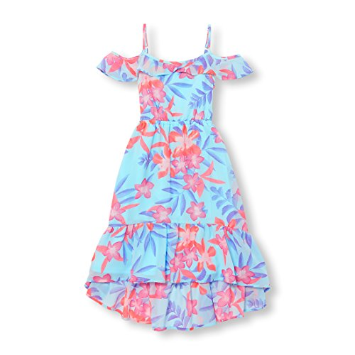 The Children's Place Big Girls' Cold Shoulder Casual Dress