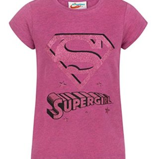 DC Superhero Girls Supergirl Girl's T-Shirt (13-14 Years)