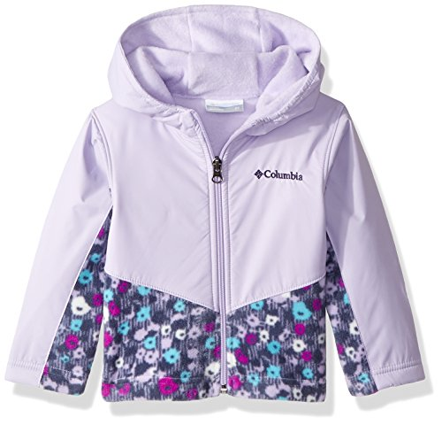 9a784045e Columbia Toddler Kids Steens Mt Overlay Hoodie, Soft Violet Floral Print, 4T
