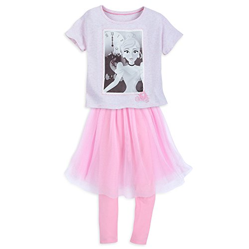 Cinderella T-Shirt and Leggings Set for Girls