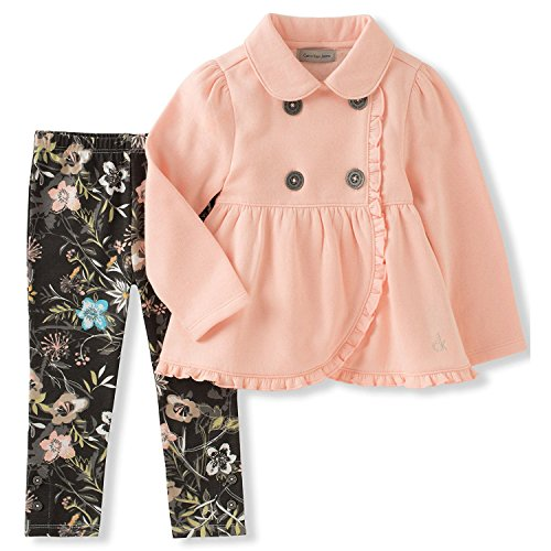 82fddd7ff544 Calvin Klein Big Girls  Jacket Set