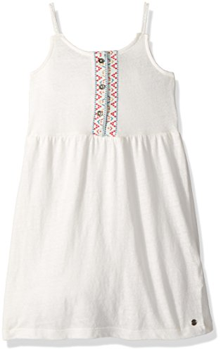Roxy Little Girls' Reached up Above Tank Dress, Marshmallow, 6