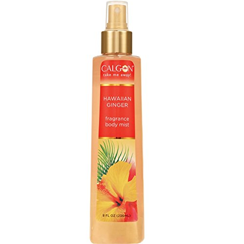 Calgon Hawaiian Ginger Fragrance Body Mist 8 oz (Pack of 12)