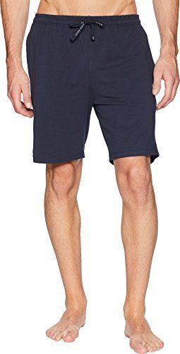 Hugo Boss BOSS Men's Stretch Cotton Lounge Shorts Blue Large