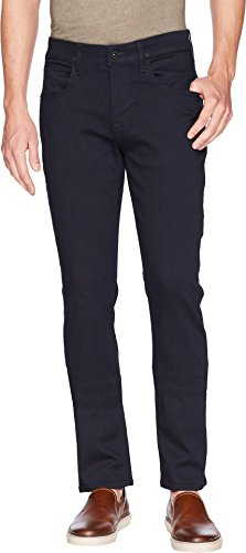 Hudson Jeans Men's Byron Straight Leg Zip Fly Jeans, Hale Navy, 32